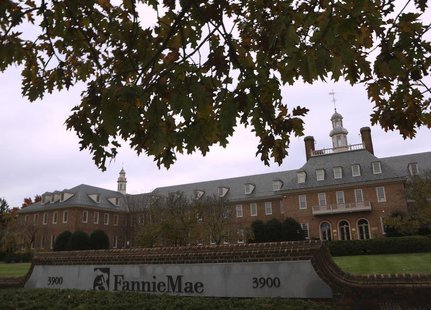 Fannie Mae headquarters is seen in Washington November 7, 2013. REUTERS/Gary Cameron