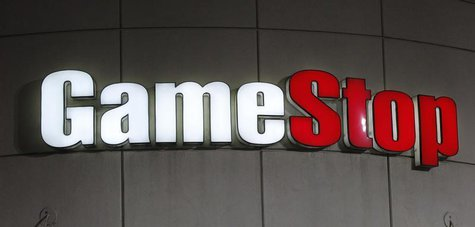 A GameStop sign is pictured in Pasadena, California March 27, 2013. REUTERS/Mario Anzuoni