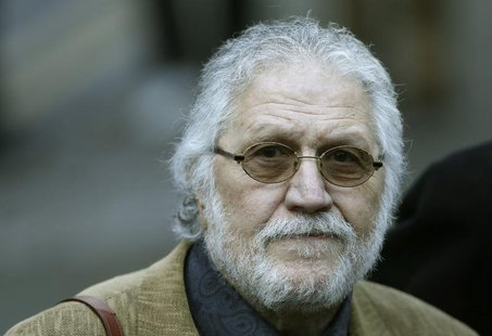 Former Radio 1 DJ, Dave Lee Travis, real name David Patrick Griffin arrives at Southwark Crown Court in London January 14, 2014. REUTERS/Suz