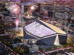 Proposed Viking stadium