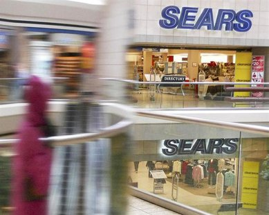 A view of a Sears store at Fair Oaks Mall in Fairfax, Virginia, January 7, 2010. REUTERS/Larry Downing