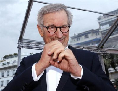Director Steven Spielberg, Jury President of the 66th Cannes Film Festival, poses on the red carpet as he arrives for the screening of the f