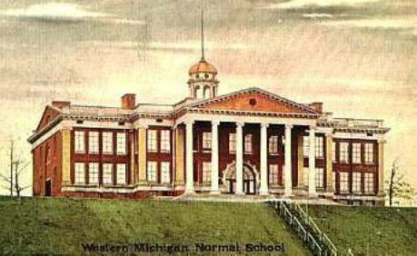 Western Michigan Normal School the way it looked originally.