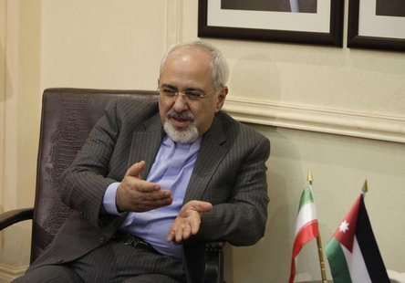 Iranian Foreign Minister Mohammad Javad Zarif meets with his Jordanian counterpart Nasser Judeh (not pictured) in Amman, Jordan January 14,