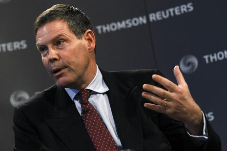 Financial Services Authority Chief Executive Hector Sants speaks at a Reuters Newsmaker event in London December 13, 2010. REUTERS/Stefan We