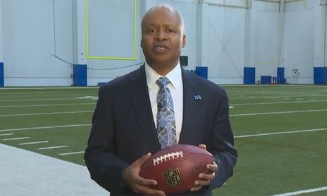Lions Head Coach Jim Caldwell
