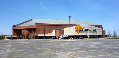 The Fargodome in Fargo, North Dakota. By Bobak Ha'Eri (Own work) [CC-BY-3.0 (http://creativecommons.org/licenses/by/3.0)], via Wikimedia Commons