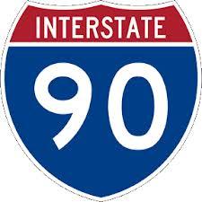 I-90 Poster