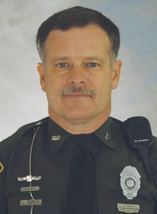Indiana Conservation Master Officer Mike Gregg