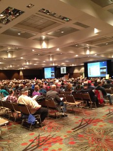 Several hundred Minnesotans turn out for public hearing over the proposed Polymet project.