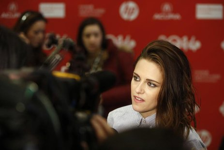 "Cast member Kristen Stewart attends the premiere of the film ""Camp X-Ray"" at the Sundance Film Festival in Park City, Utah January 17, 2014."