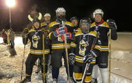 Night Pond Hockey kicks off the Badger State Games!! 2