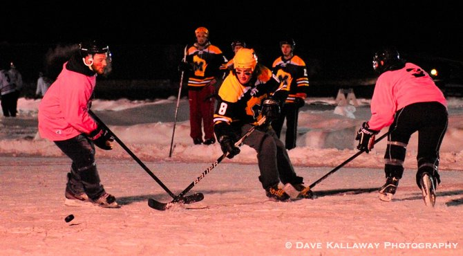 50+ teams signed up this year for Pond Hockey!