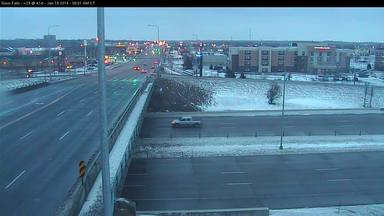 I-229 and Louise Ave in Sioux Falls - Photo courtesy SD DOT