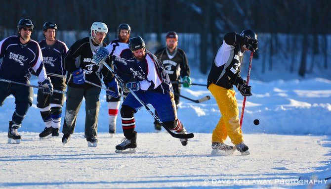 Pond Hockey galore..happening through Sunday Jan 19th!!
