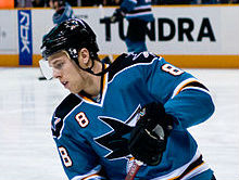 Joe Pavelski   Photo: Wikipedia