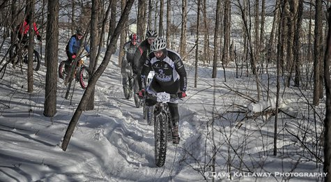 Badger State  Games Fat Bike Race  Photo: Dave Kallaway Photography