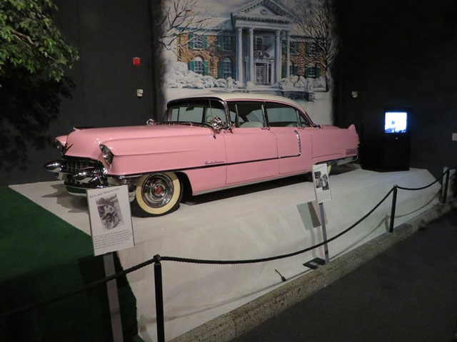 Elvis bought this Pink Cadillac for Priscilla.