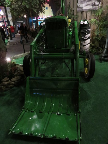Elvis' John Deer Tracker