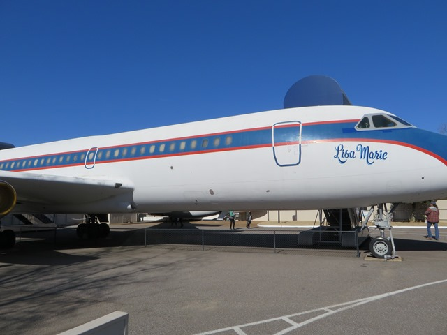 "Elvis Presley's plane called ""Lisa Marie"""