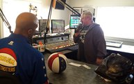 """Flight Time"" From The Harlem Globetrotters Visited Q106! 2"