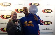 """Flight Time"" From The Harlem Globetrotters Visited Q106! 1"