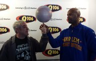 """Flight Time"" From The Harlem Globetrotters Visited Q106! 3"