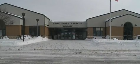 Shiocton School District building on Jan. 20, 2014. (Photo from YouTube)