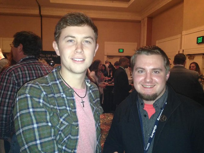 Scotty McCreery and Kody Mac