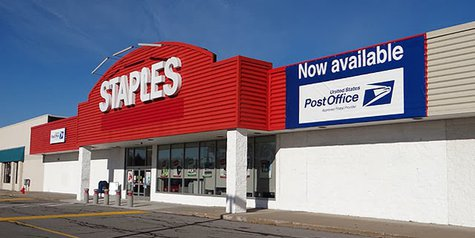 Staples and USPS