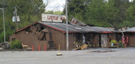 Little Nashville Opry after fire