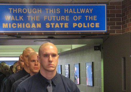 Troopers in training. (photo supplied by State Police)