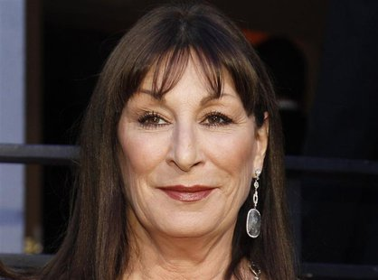 Angelica Huston arrives at the 2010 Vanity Fair Oscar party in West Hollywood, California in this file photo taken March 7, 2010. REUTERS/Da