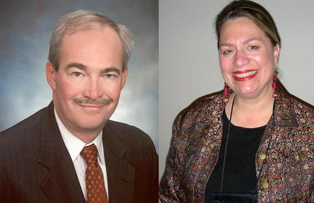Jim Hettinger and Mary Asmonga-Knapp.