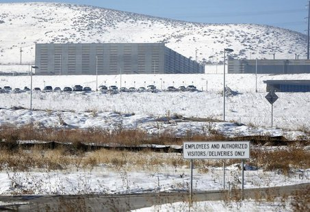 A National Security Agency (NSA) data gathering facility is seen in Bluffdale, about 25 miles (40 km) south of Salt Lake City, Utah, Decembe