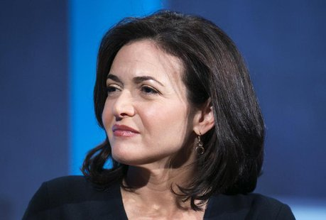 The chief operating officer of Facebook, Sheryl Sandberg, listens at the Clinton Global Initiative 2013 (CGI) in New York September 24, 2013