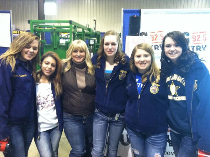 Sara and the FFA gals