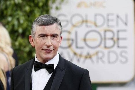 Actor Steve Coogan poses on arrival at the 71st annual Golden Globe Awards in Beverly Hills, California January 12, 2014. REUTERS/Danny Molo