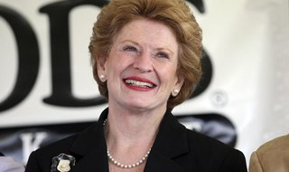 Michigan Democratic Senator Debbie Stabenow attends the ground breaking ceremony of a new 20,000-square-foot Whole Foods Market scheduled to