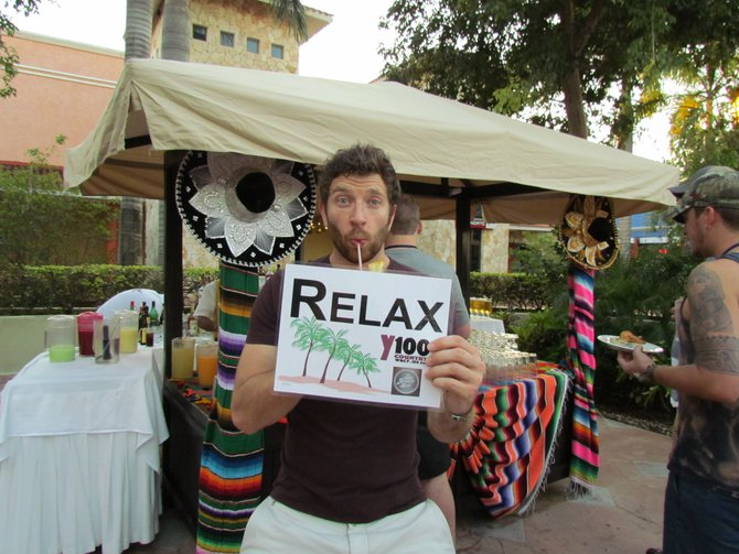 "Monday's Tropical Word of the Day - ""RELAX"""