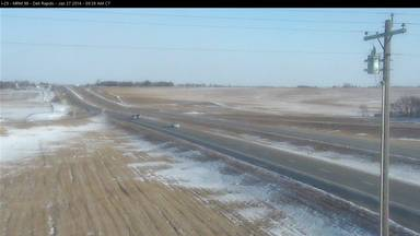 I-29 in eastern South Dakota - photo courtesy SD DOT 1/27/14