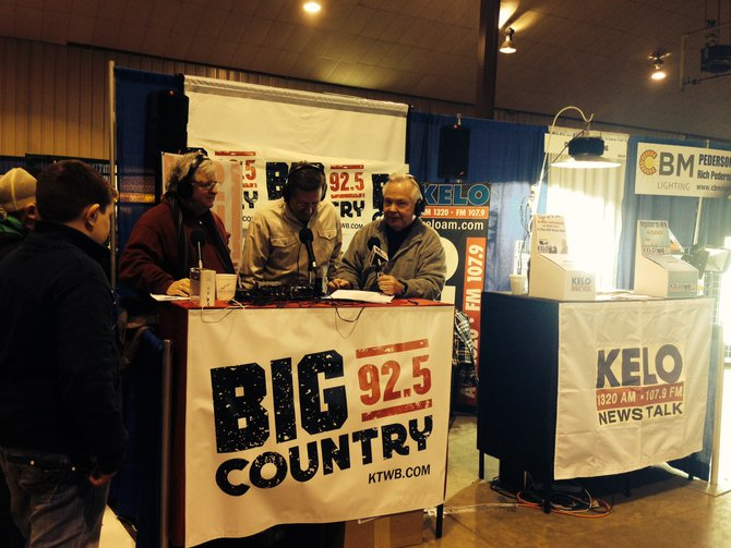 It's Your Business with Bill Zortman live from the W.H. Lyon Fairgrounds!  Hey Mayor Mike - look into the camera!