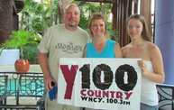 Y100's Great Escape 2014 - Tuesday 25