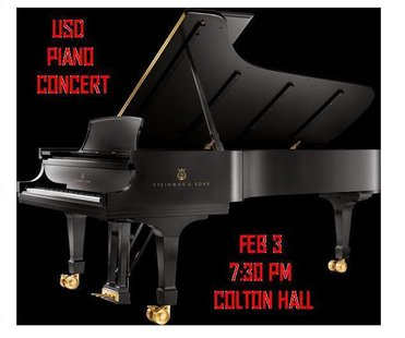 "The University of South Dakota Department of Music will present a duo-piano music concert, ""Dr. C & Mr. P: Dance Music – and Other Stuff,"" featuring Linda Christensen, Ph.D., and Philip Pfaltzgraff at 7:30 p.m. on Monday, Feb. 3 at Colton Recital Hall in the Warren M. Lee Center for the Fine Arts. (usd.edu)"