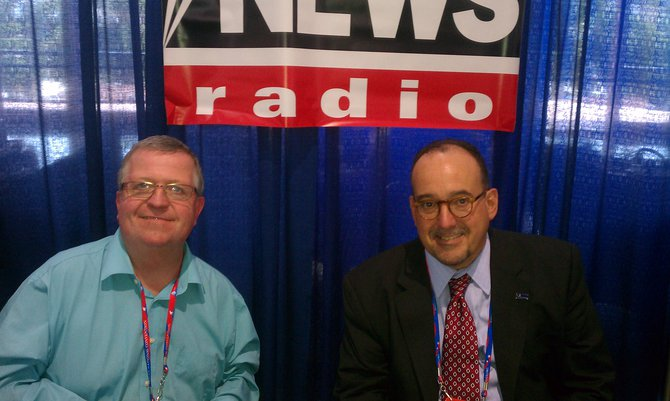 Jerry Bader at the RNC