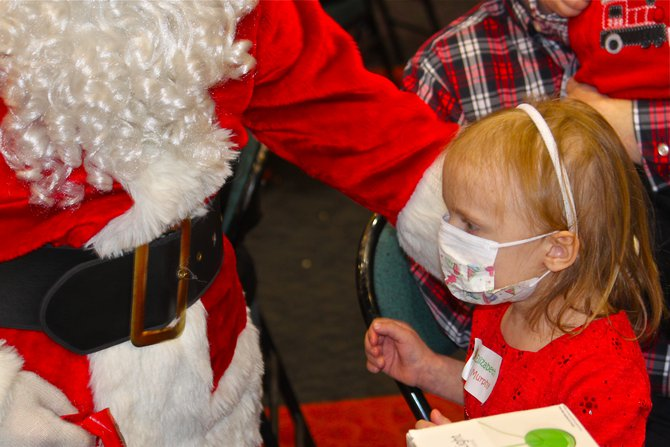 Families of Children With Cancer Christmas Party made possible because of the generosity of Jerry Bader Show listeners.
