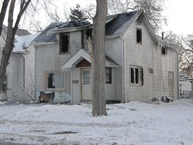 House fire in Valley City Photo courtesy News Dakota