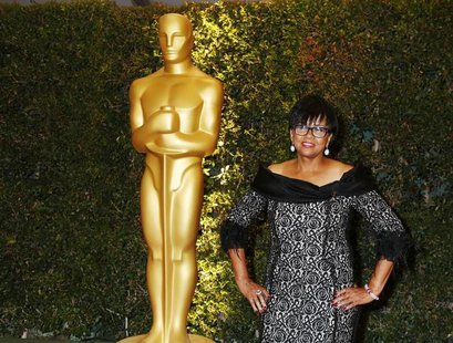 Cheryl Boone Isaacs, president of the Academy of Motion Picture Arts and Sciences, arrives at the 5th Annual Academy of Motion Picture Arts