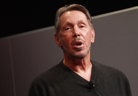 Oracle Corporation CEO Larry Ellison introduces the company's latest SPARC servers in Redwood Shores, California, March 26, 2013. REUTERS/St