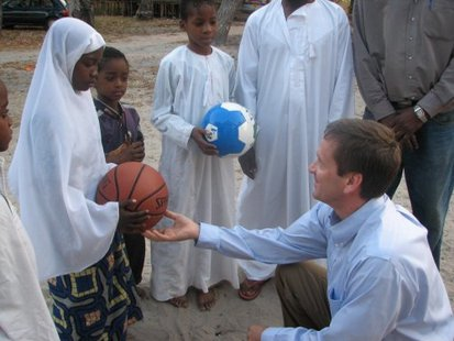 Former Wisconsin Congressman and U.S. Ambassador to Tanzania Mark Green.